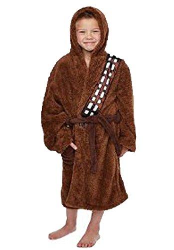 Groovy Uk Unisex Chewbacca Bathrobe Brown - Medium - 7-9 Years