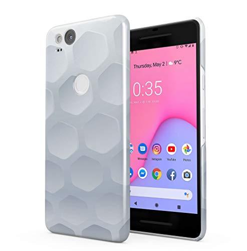 Maceste Golf Ball Texture Kompatibel mit Google Pixel 2 SnapOn Hard Plastic Phone Protective Fall Handyhülle Case Cover (Scratch Golf Bälle)