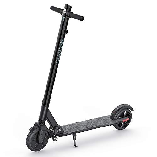 """Macwheel Trottinette Electrique Pliable et Portable, Moteur Puissant de 350W, Autonomie 28 km, Vitesse Maximale de 24 km/h, 8"""" Pneu Plein Increvable, Scooter pour Adultes (MX3)"""