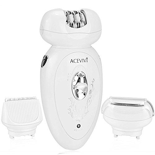 Teamyy Epilierer Damen Rasierer Haarentferner Wiederaufladbare Elektrorasierer Ladyshaver Professional für Haarentfernung