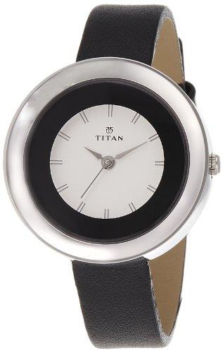 Titan Youth Analog White Dial Women's Watch - NE2482SL02 image