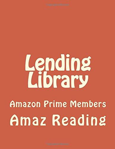 Lending Library: Amazon Prime Members