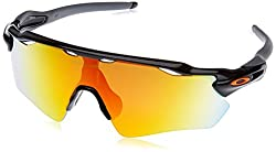 Oakley Men's Radar Ev Path 920819 Sunglasses, Black (Polished Black), 1