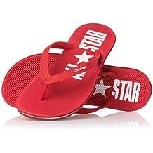 Converse Flip Flops zapatillas de la arena 129574C Varsity Red Star tanga roja