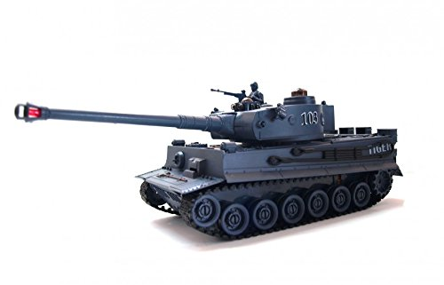 TANK RC INFRAROUGE CHAR GERMAN TIGER 1:28 2.4GHz RTR 3029600254115