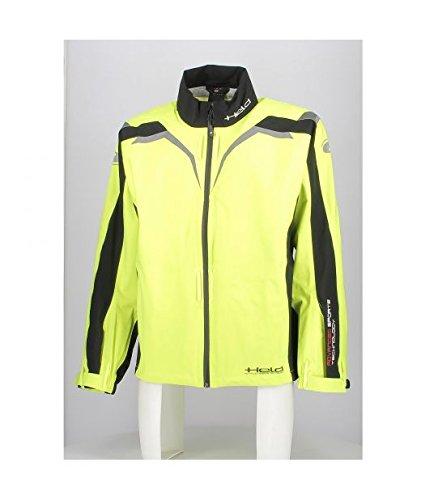Textile Jacket Held Rainblock Top Black/Neonyellow M