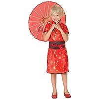Disfraz de niña de China Oriental. 3 - 5 años