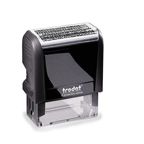 Trodat Printy 4912 Datenschutzstempel, schwarz