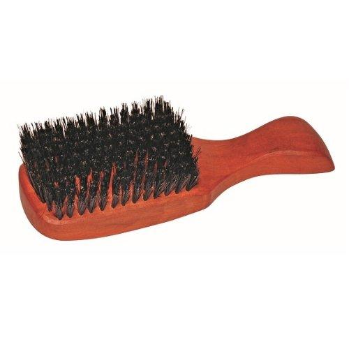Brosse à cheveux pour homme, manche en bois de poirier huilé de haute qualité, poils de sanglier, taille 175 x 54 mm, made in Germany
