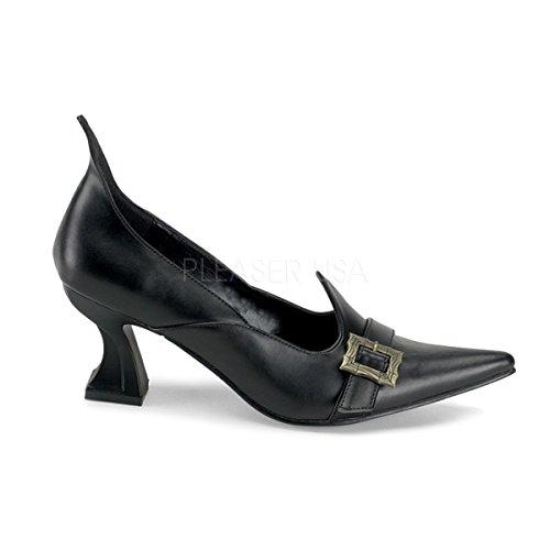 Funtasma Hexen-Schuhe Salem-06 mattschwarz Gr. (Schuhe Schwarze Salem)