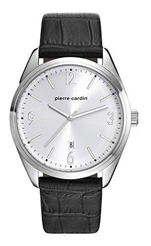 Pierre Cardin Reloj Analogico para Hombre de Cuarzo con Correa en Cuero PC107861F01
