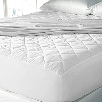 "Cloth Fusion Patron 2nd Gen Waterproof Cotton Mattress Protectors- Single Size (72""x36""), White"