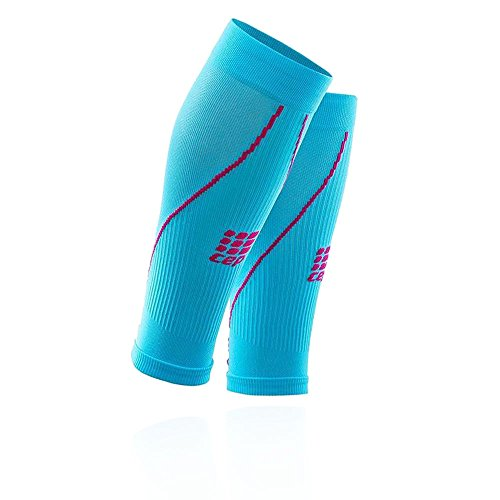CEP - Calf Sleeve 2.0, Beinstulpen für Damen in blau/pink, Größe III, Beinlinge für exakte Wadenkompression, Made by medi