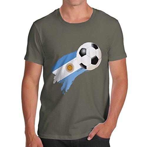 TWISTED ENVY Herren T-Shirt Khaki