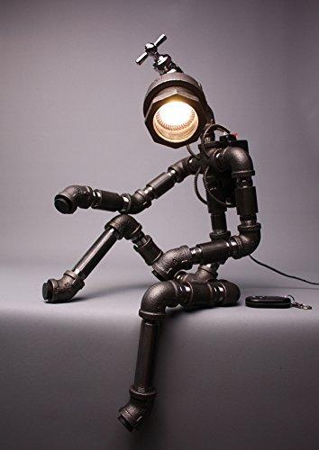Lampada abat jour lampada da tavolo o lampada da camera da letto o ...
