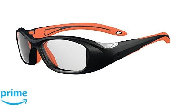 Bollé Sonnenbrille Swag Brille Sonnenbrille, Orange/Schwarz, 49