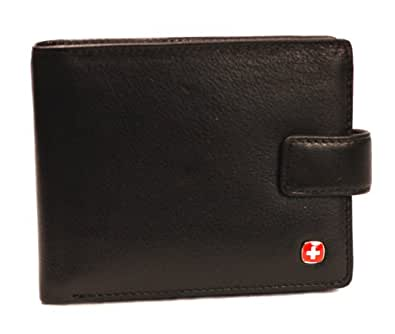 Wenger Genuine Soft Leather 10 Credit Card Slot Gents Wallet With Rear Pocket - Style 94401
