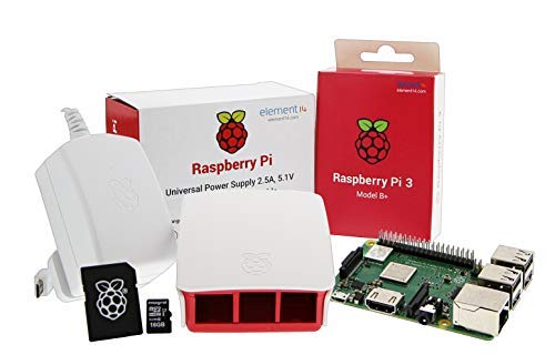 UCreate Raspberry Pi 3 Model B+ Desktop-Starter-Kit (16 GB, weiß) Pi Platte