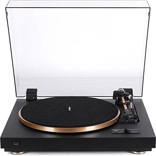 Dual CS 455-1 Vollautomatik-Plattenspieler schwarz/gold