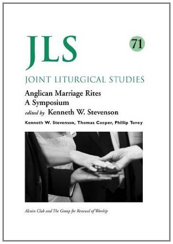 Jls 71: Anglican Marriage Rites (Joint Liturgical Studies) by Thomas Cooper (Contributor), Phillip Tovey (Contributor), Kenneth W. Stevenson (Editor) (31-May-2011) Paperback