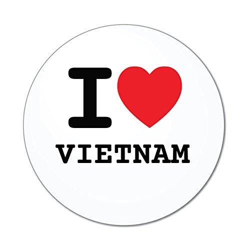 JOllify Aufkleber - Vietnam - Farbe: Design: I Love - Ich Liebe