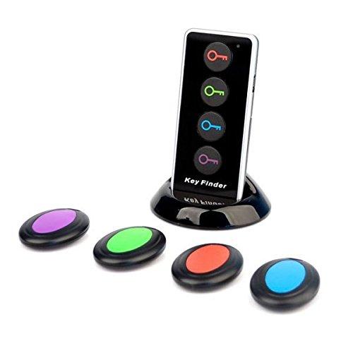 Pixnor Schlüsselfinder 4-in-1 Magicfly Funkbetrieb elektronische elektronische Schlüssel Finder Locator Set