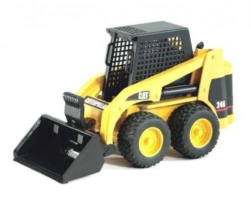 Toy / Game Bruder Caterpillar Skid Steer