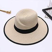 GUANT Home Sombrero Mujer Sombrero de Paja de Verano versión Coreana del  Gran Sombrero de Playa a1258df6bc38