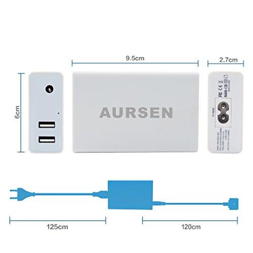 Aursen-45-W-Magsafe-2-Power-Chargeur-bloc-dalimentation-45-W-Magsafe-2-Adaptateur-T-Forme-de-compatible-avec-modle-A1436-A1466A1465A1435-MD223-MD224MD231-MD232MD760MD761MD711MD712