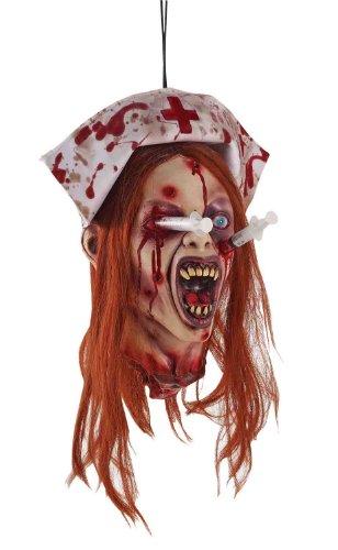 Krankenschwester Annie mit Spritzen im Kopf Zombie Klinik Halloween Horror (Halloween Annie)