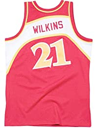 Mitchell & Ness Dominique Wilkins 1986-87 Road Atlanta Hawks Replica Swingman NBA Jersey HWC