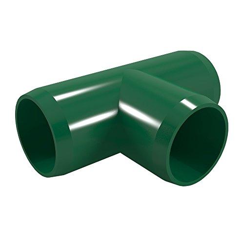 formufit f114tee-gr-4Tee PVC, Möbel, 1–1/10,2cm Größe, Grün (4Stück) (Grüner Tee-möbel)