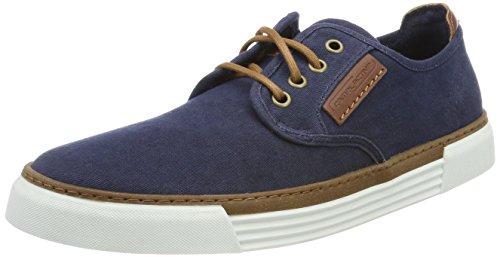 Navy Canvas-schuhe (camel active Herren Racket 14 Sneaker, Blau (Navy 08), 40.5 EU)