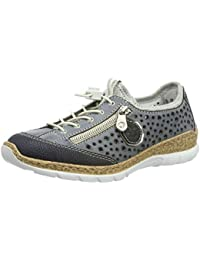 341074367c Amazon.co.uk: Rieker - Trainers / Women's Shoes: Shoes & Bags
