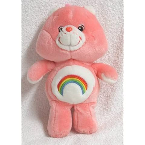Care Bear Cheer Plush Toy 8 Collectible 2002 by Play Along by Play Along