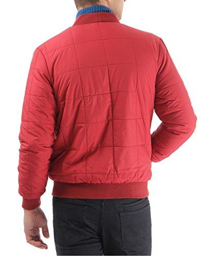 US Polo Assn. Men's Cotton Casual Jacket (8907163185907_USJK0315_XL_Burnt Red)