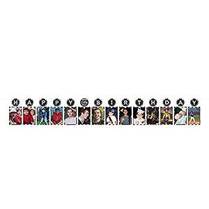 Amscan International-2216713,65m x 7,5cm), color negro y blanco foto guirnalda