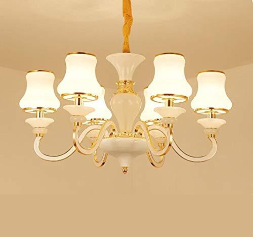 Giow LED Lampen/Kronleuchter/kreative Wohnzimmerlampe Cafe/Restaurant in Nordeuropa das Schlafzimmer nackte Puppe/Kronleuchter, quadratische runde Trompete
