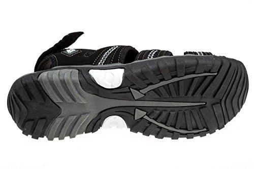 GIBRA® Trekkingsandalen, sehr bequem, schwarz/weiß, Gr. 36-41 Schwarz/Weiß