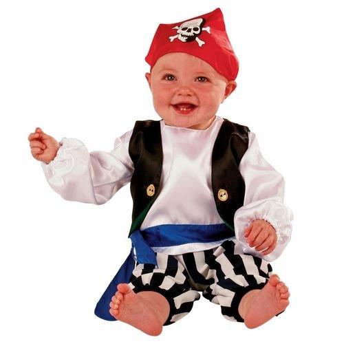 Babys und Kleinkinder - Pirat Seeräuber Kostüm - Gr 80 (6-12 Monate) Slimy Toad (6 Monats Kostüme)