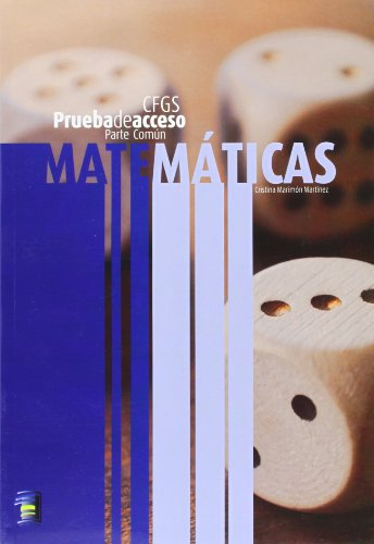 Matematicas (comun) - prueba de acceso a ciclo formativo grado superior por Cristina Marimon Martinez