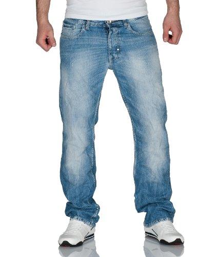 JACK & JONES Herren Jeans Normaler Bund 12064975 RICK ORIGINAL JJ 338 LID SC 629