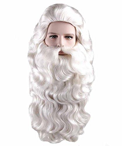 Parrucca THEHAIRDROBE Babbo Natale vestito operato y Ricci...