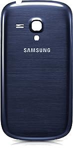 Samsung Galaxy S3 mini i8190 Akkudeckel BLAU *Neu* blue Backcover wechsel, Rückseite für Batterieabdeckung, Ersatzteil Rückschale, Back-Cover Schale für S3 mini, Akkufachdeckel, Abdeckung Batterie