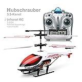 MKZDGM RC Hubschrauber, Ferngesteuertes Spielzeug, 3.5CH Hubschrauber,Eingebautes...