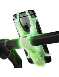 Sahara Sailor Bone Series Silizium Handyhalterung Fahrrad Universal Fahrradhalterung für iPhone,Android Smartphone und andere GPS Geräte, passt für jedes Gerät mit 4-6 Zoll Bildschirmen