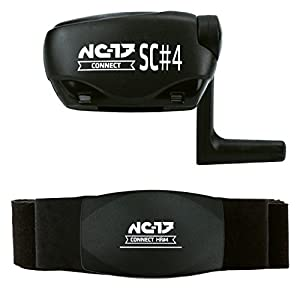 41uIbzYyB%2BL. SS300  - NC-17HR 4/SC 4/SC 5| Analyze Pulse Heart Rate Monitor + Bike Sensor, speed/cadence | Compatible Ant + Bluetooth 4.0Bike Computer iPhone IOS, Android, Windows Mobile 8.1