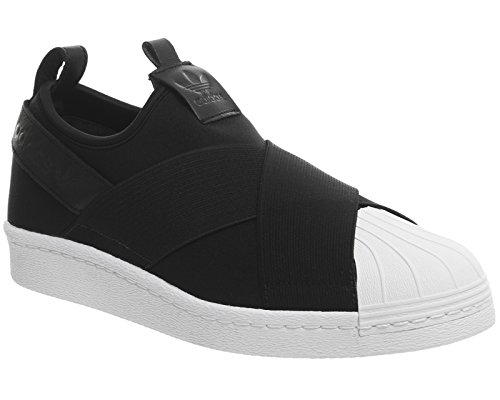 adidas Superstar Slipon, Sneaker a Collo Basso Unisex – Adulto Nero (Core Black/core Black/core Black)