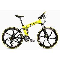 SportArts Bicicleta De Montaña Plegable con 48V Extraíble Li-Battery 27 Speed Gear