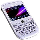 Blackberry Curve 3G 9300 QWERTY - Smartphone gratuit (appareil photo 3MP, 256 Mo de capacité, processeur de 600 MHz), Blanc